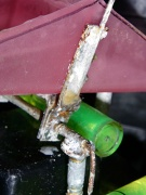 Corrosion had locked up some of our drip sensor tipping buckets a few years before.