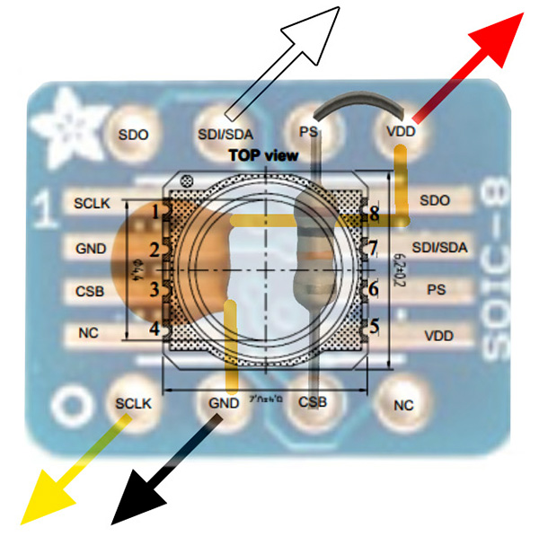 Tutorial: Using an MS5803 pressure sensor with Arduino | Underwater on boat alternator diagram, port side of boat diagram, speed boat diagram, boat steering diagram, race car ignition diagram, boat anatomy diagram, boat plumbing diagram, rewiring a boat diagram, boat electrical diagram, boat engine, boat lighting diagram, pontoon boat diagram, circuit diagram, boat parts diagram, boat inverters diagram, simple boat diagram, cessna 152 electrical system diagram, boat lights diagram, boat construction diagram, boat schematics,