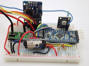 A DIY data logger