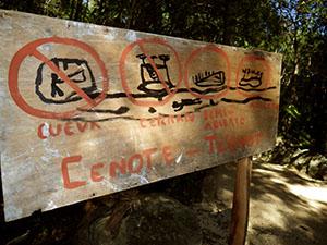 Heh gringos! No Cueva!