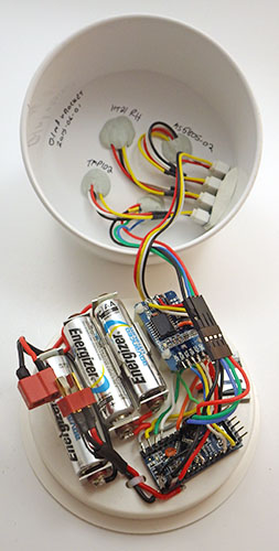 Developing an arduino based weather station…