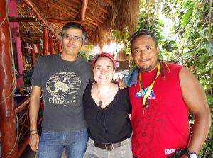 Gabriel, Patricia Beddows, Marco A. Montes Sainz
