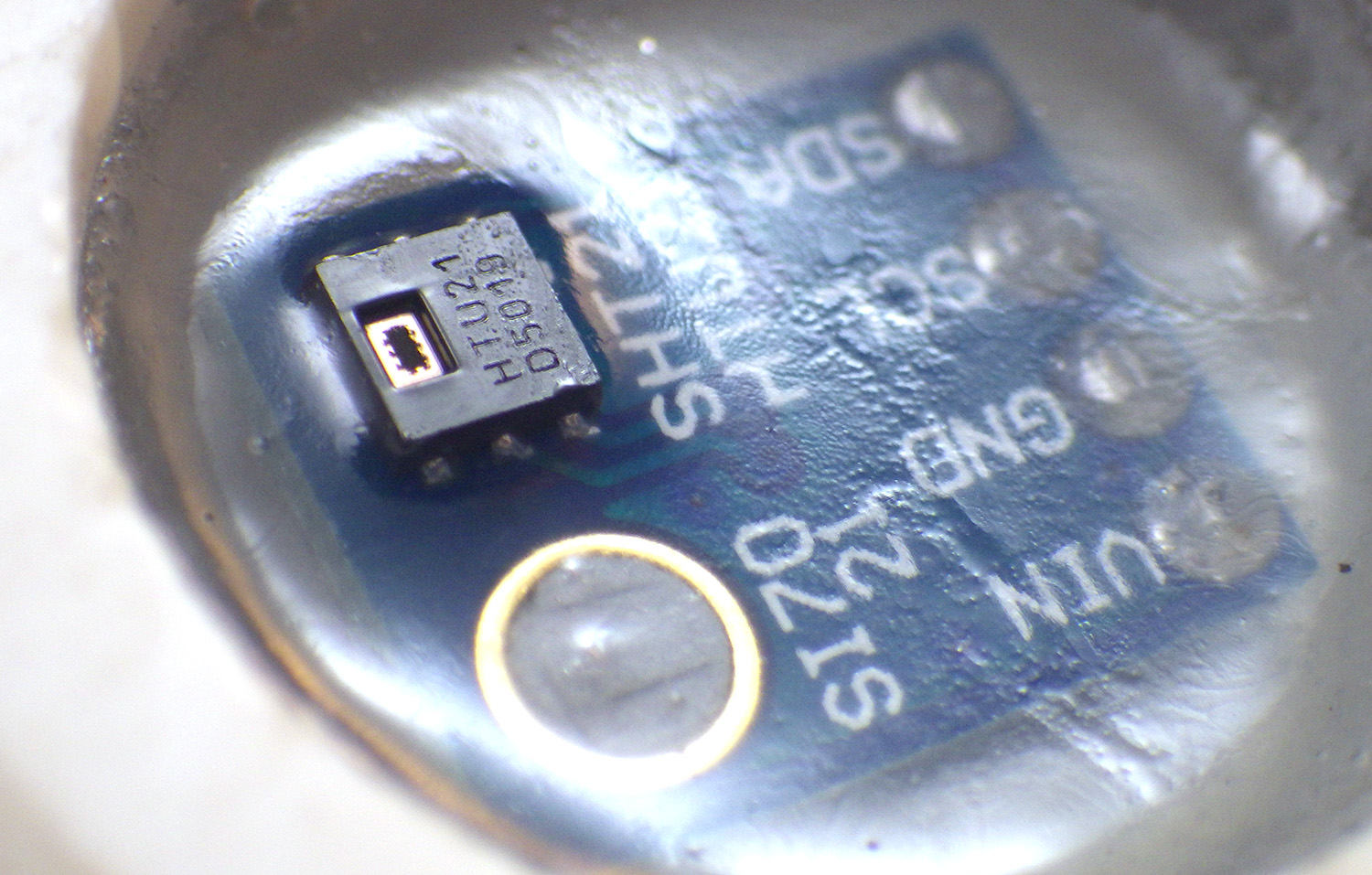 Arduino Pro Mini Data Logger Part 3 Sensors Housing 2015 Circuit Board Pu Transparent Waterproof Potting Pcb Many Such As Temperature Magnetometers And Mems Accelerometers Can Be Completely Encased In The Epoxy Function Well