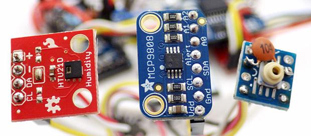 Developing NEW sensors * | Underwater Arduino Data Loggers